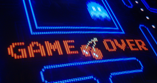 Game Over Pacman